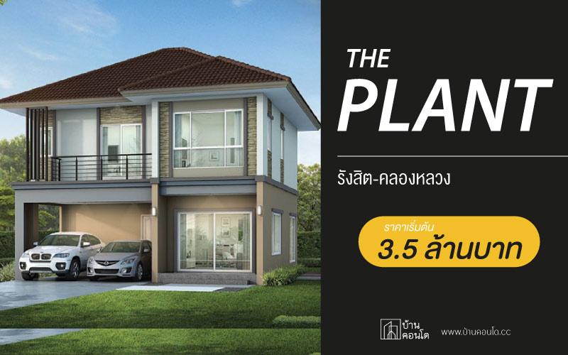 THE PLANT รังสิต-คลองหลวง ราคาเริ่มต้นที่ 3.5 ล้านบาท